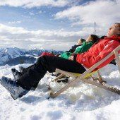Sonnen statt Skifahren