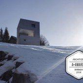 Preisgekrönte Hütte der Marte-Architekten