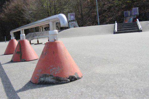 Die Skater sehen zahlreiche Verbesserungsmöglichkeiten.  Foto: js