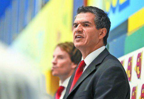 Die WM in Südkorea war die Abschiedsvorstellung von Manny Viveiros als österreichischer Eishockey-Nationalteamtrainer. Foto: gepa