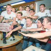 Altach in der Bundesliga! Der Meisterteller ist angekommen