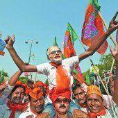 Ganz Indien befindet sich im Wahlfieber