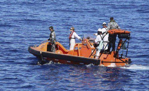 Ein Suchschiff hat erneut Signale registriert. Das Suchgebiet im Indischen Ozean wurde weiter eingegrenzt.  Foto: Reuters