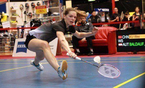 Elisabeth Baldauf hat erstmals den Sprung in die Top-100 der Weltrangliste geschafft. Foto: ÖBV