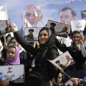 Zwölf Millionen Afghanen wählen Präsidenten