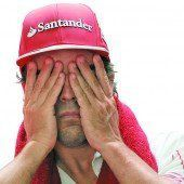 Alonso hat wieder Albträume