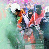Zehntausende demonstrierten in Brüssel gegen Europas Sparpolitik