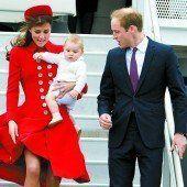Die erste Reise von Prinz George