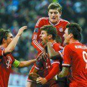 FC Bayern im Halbfinale