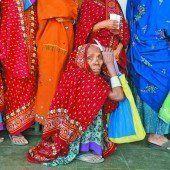 Größter Wahltag in Indien