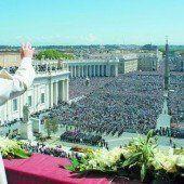 Papst Franziskus bittet um Frieden in aller Welt