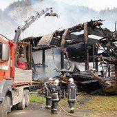 Großbrand wütete in Au