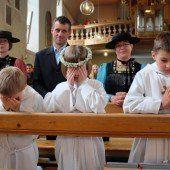 Ein feierlicher Tag für Erstkommunikanten
