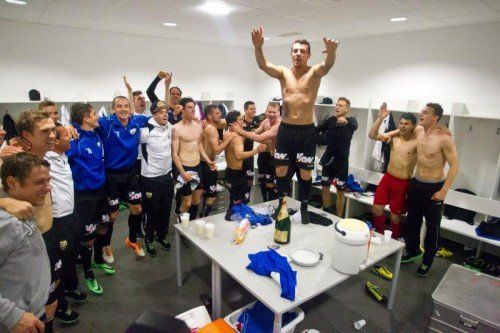 Fussball, Erste Liga, SKN St. Pölten - SCR Altach