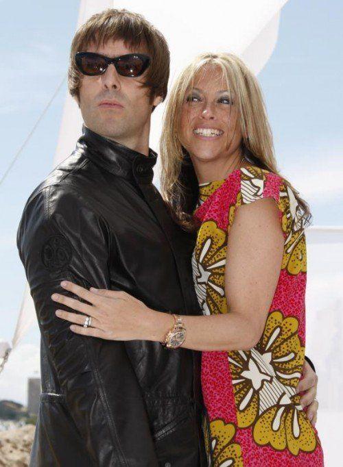 Gallagher und Appleton waren sechs Jahre verheiratet. Foto: epa