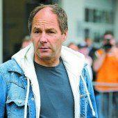 Als Gerhard Berger dem Feuer entkam