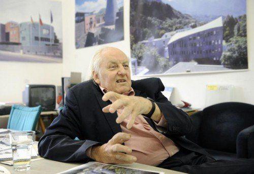 Hans Hollein ist Träger des renommierten Pritzker-Preises.  Foto:aPA