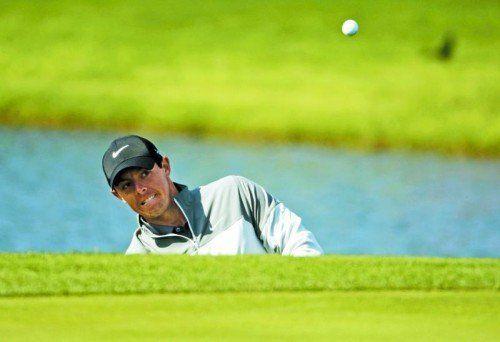 Heißer Anwärter auf den Sieg beim Golf-Masters in Augusta: Rory McIlroy. Foto: ap