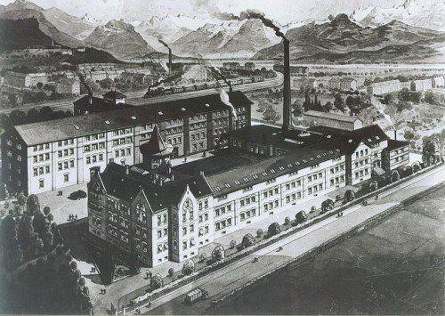 """Heute wird die Ausstellung """"Die goldene Schale. Spazieren in Bregenz"""" im Martinsturm in Bregenz eröffnet. Im Bild Firma Wilhelm Bengers Söhne, um 1920. foto: stadtarchiv bregenz"""