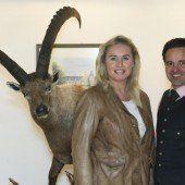 Hotelchef mit VN-Chefredakteurin: Florian Moosbrugger und Verena Daum-Kuzmanovic.