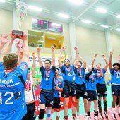 Volleyballer von Hypo Tirol sind wieder Meister