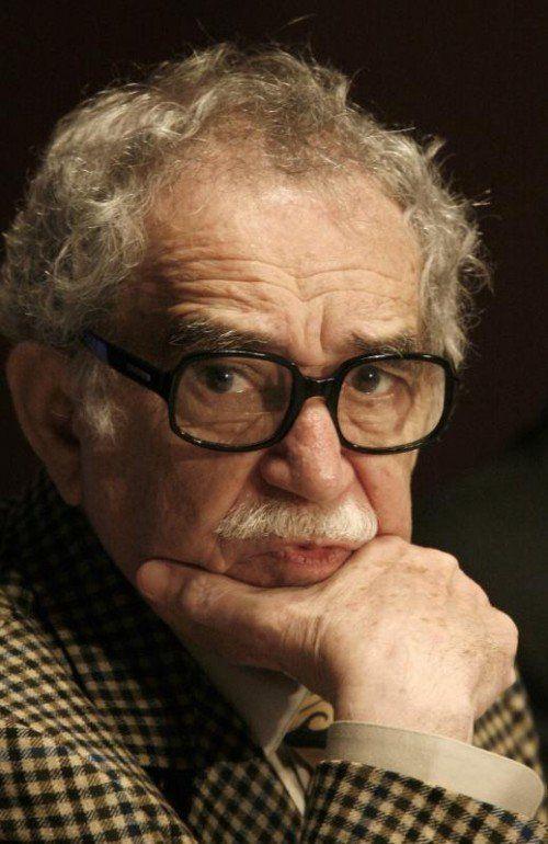 Im Alter von 87 Jahren verstorben: Gabriel Garcia Márquez.