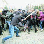 Die Ukraine droht zu zerfallen