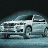 BMW setzt X5 unter Strom