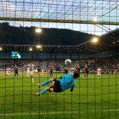 Innsbruck trotz 1:1 kurz vor Abstieg