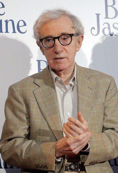 Jammern auf sehr hohem Niveau: Woody Allen. Foto: AP