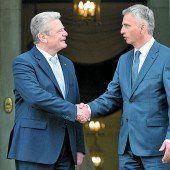 Gauck warnte die Schweiz