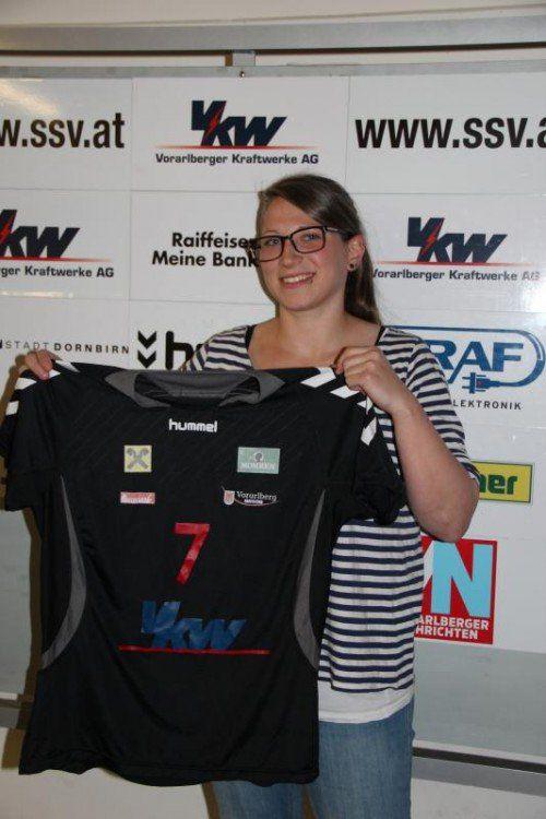 Julia Feierle kehrt zum SSV Schoren zurück. Foto: Verein