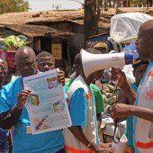 Zahl der Ebola-Toten steigt kontinuierlich an