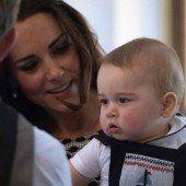 Britische Royals legten einen Familientag ein