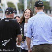 Kate segelt William davon