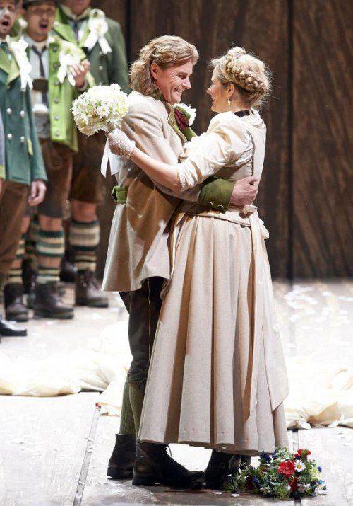 Klaus Florian Vogt und Camilla Nylund.  Foto: APA, Oper/Pöhn