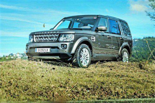 Land Rover Discover: Ein edler Alleskönner, der selbst im schweren Gelände eine Top-Figur macht. Fotos: vn/Steurer
