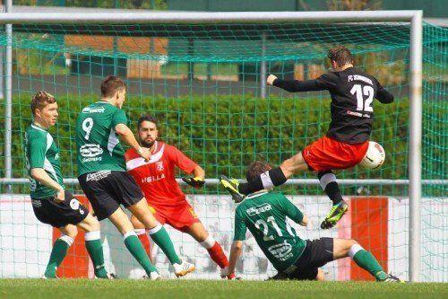 Landesliga, 16. Spieltag; FC Schwarzach - Dornbirner SV