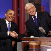 David Letterman kündigt seinen Ruhestand an