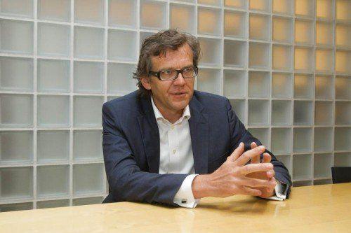Mathias Boenke wird neuer Chef von Intersport.  Foto: VN/Paulitsch