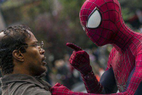 Max, gespielt von Jamie Foxx, ist Spidermans größter Kontrahent. AP