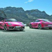 Cayman und Boxster erhalten GTS-Version