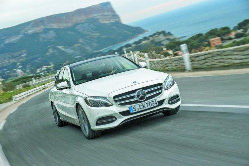Mercedes senkt den Flottenverbrauch kräftig. Foto: werk