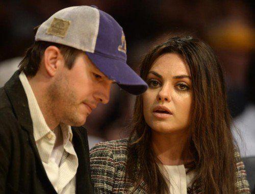 Mila Kunis und Ashton Kutcher erwarten ihr erstes Kind.