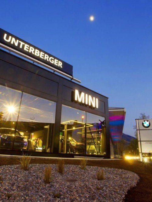 Mini-Repräsentanz Unterberger in Dornbirn.  Foto: VN/Paulitsch