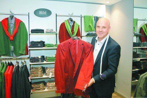 """Modefachmann Willi Heim: """"Für jeden das Passende finden."""""""