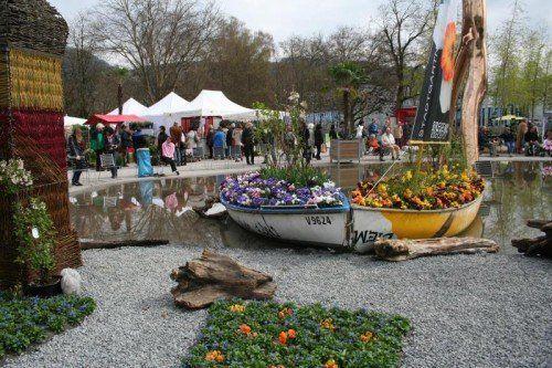 Nach zwei weißen Osterfesten freuen sich Aussteller wie Besucher diesmal von Karfreitag bis Ostersonntag (18. bis 20. April) auf einen schneefreien Garten-Kultur-Markt. FOTO: xxxx