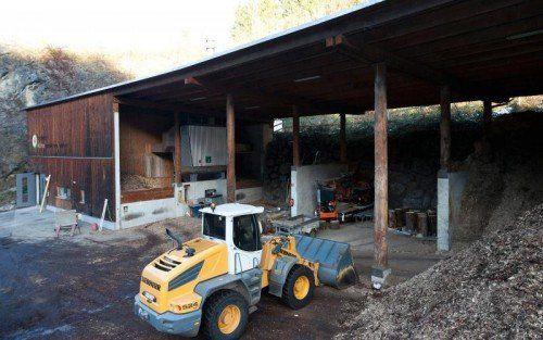 Österreichweit erstes Biomasse- Heizwerk mit Krisenmanagement.