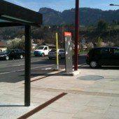 Götzis. Parkplatzproblem Garnmarkt