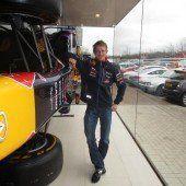 Racing-Designer Paul Bischof mit einem Video